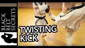 Twisting Kick (Bituro Chagi)