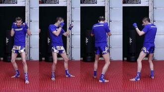 Back Stance Tutorial (Fighting Stance) Taekwondo for MMA & Kickboxing