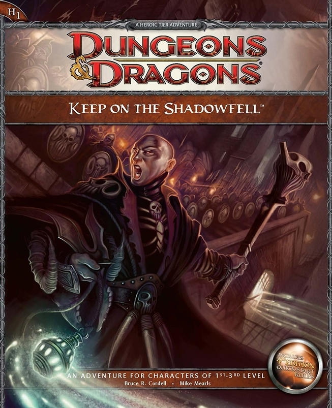 Cover of H1 Keep on the Shadowfell