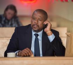 Inspector Frank Dotzler (Forest Whitaker) in Taken 3