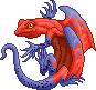 Toxidermis dragon male strawberry