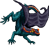 Toxidermis dragon female stripe