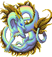 Prismatic dragon gold