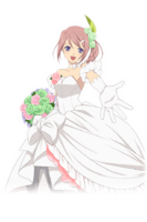 (Bride in White) Sara