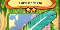 Feather of Chickadee