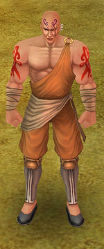Default monk armor
