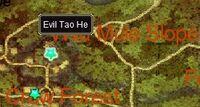 Evil Tao He (quest) map