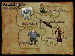 Snow Mountain map