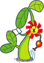 Ms. flower artwork