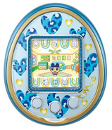 Blue 4u with blue hearts plate
