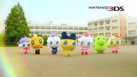 3DSソフト「たまごっち!せーしゅんのドリームスクール」TVCM30秒