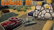 Tanki Online Godmode ON - Goldboxes!