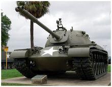 M48 Patton Tank on display