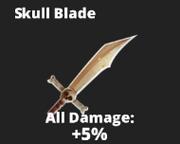 Skull blade sword
