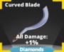 Curved Blade sword
