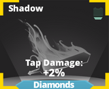 Shadow slash effect