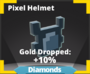 Pixel helmet