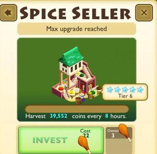 Spice Seller Faceplate