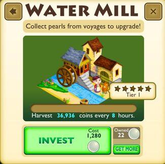 Water Mill Tier 1
