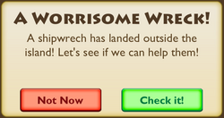 A Worrisome Wreck Intro 3