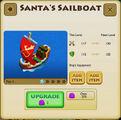 Santa's Sailboat - Tier 1