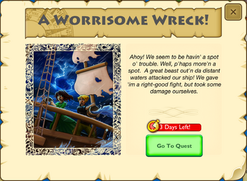 A Worrisome Wreck Intro 5