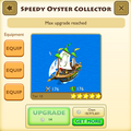Speedy Oyster Collector tier 10