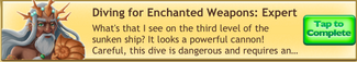 DivingForEnchantedWeaponsExpertCompleted