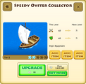 Speedy Oyster Collector Tier 2