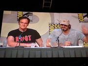 Comic-Con 2006 - Grindhouse panel - Quentin Tarantino and Robert Rodriguez
