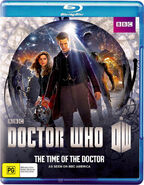 The Time of the Doctor 2014 Blu-ray Au