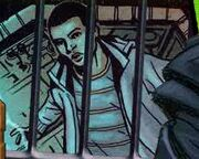 Clyde in a judoon prison