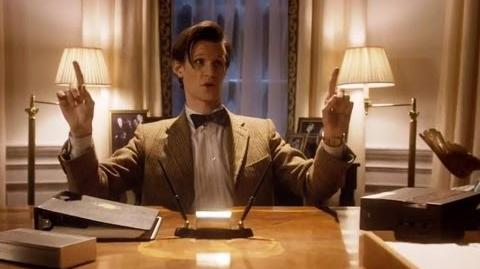 The Doctor in the White House - Doctor Who - The Impossible Astronaut - Series 6 - BBC