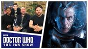 Jamie Mathieson, Mimi Ndiweni & Kieran Bew - The Aftershow - Doctor Who The Fan Show