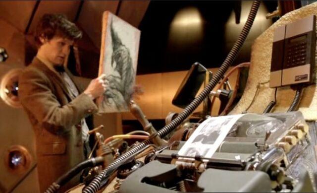 File:Vincent and Doctor tardis.jpg