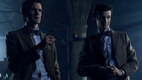 Two Doctors are better than one - Doctor Who - Almost People - Series 6 - BBC