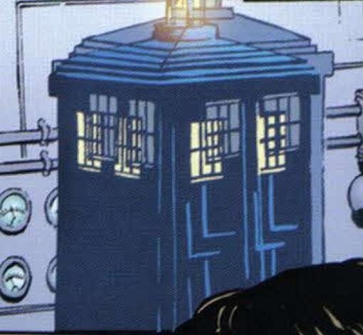 File:Monks's TARDIS & Doctor's TARDIS land inside each other.jpg