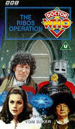 The Ribos Operation VHS UK cover