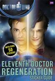 Eleventh Doctor Regeneration Sticker Guide