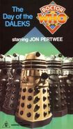 Day of the Daleks VHS 1987 Australian cover
