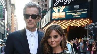 DOCTOR WHO's Peter Capaldi & Jenna Coleman Rock Fans at U.S. Premiere Screening in NYC, World Tour