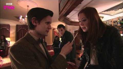 Smith Hour Matt Smith Interviews Karen Gillan - Doctor Who Confidential - Episode 11- BBC Three