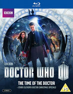 The Time of the Doctor 2014 Blu-ray UK