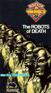 The Robots of Death VHS US cover