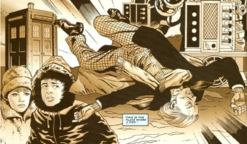 File:The 12th Doctor Remembers His First Regeneration (Blood and Ice).jpg