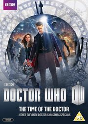 The Time of the Doctor UK DVD Cover