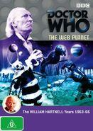 The Web Planet DVD Australian cover