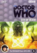 City of Death DVD Netherlands cover