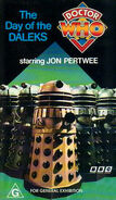 Day of the Daleks VHS Australian cover reissue