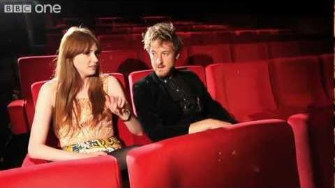 Doctor Who Prequel Pond Life - Karen Gillan & Arthur Darvill interviewed - Series 7 2012 - BBC One